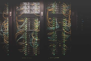 servers and wires